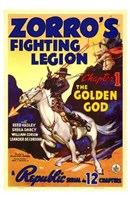 Zorro's Fighting Legion Wall Poster