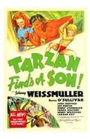"""Tarzan Finds a Son!, 1939, 1939 - 11"""" x 17"""""""