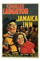 "Jamaica Inn Charles Laughton - 11"" x 17"""