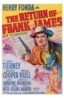 "The Return of Frank James Henry Fonda - 11"" x 17"""