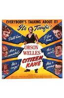 "Citizen Kane Cast - 11"" x 17"" - $15.49"