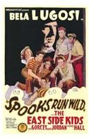 "Spooks Run Wild - 11"" x 17"" - $15.49"