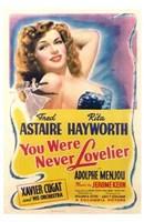 "You Were Never Lovelier Rita Hayworth - 11"" x 17"" - $15.49"