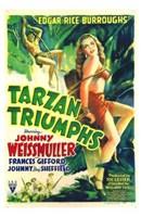 """Tarzan Triumphs, 1943, 1943 - 11"""" x 17"""""""