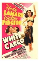 """White Cargo - 11"""" x 17"""""""
