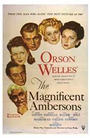 """The Magnificent Ambersons - 11"""" x 17"""" - $15.49"""