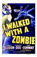 """I Walked with a Zombie - 11"""" x 17"""""""