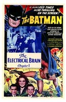 Batman The Electrical Brain Wall Poster