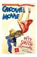 """Groovie Movie - 11"""" x 17"""""""
