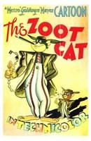 "The Zoot Cat - 11"" x 17"", FulcrumGallery.com brand"