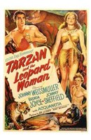 Tarzan and the Leopard Woman, c.1946 - style A Wall Poster