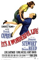It's a Wonderful Life Frank Capra - Liberty Films Fine Art Print