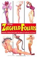 "Ziegfeld Follies posing - 11"" x 17"", FulcrumGallery.com brand"