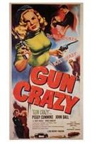 """Gun Crazy Peggy Cummins - 11"""" x 17"""""""