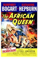 """The African Queen S.P. Eagle & John Huston - 11"""" x 17"""""""