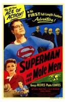 Superman and the Mole Men Fine Art Print