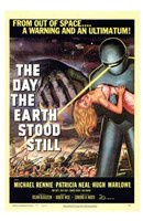 The Day the Earth Stood Still From Outer Space Wall Poster