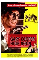 High Noon Cowboy Duel Wall Poster