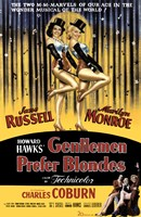 "Gentlemen Prefer Blondes - style A, 1953, 1953 - 11"" x 17"""
