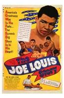 "The Joe Louis Story - 11"" x 17"""