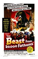 "The Beast from 20 000 Fathoms By Eugène Lourié - 11"" x 17"""