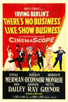 """There's No Business Like Show Business Ethel Merman - 11"""" x 17"""""""