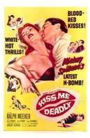"""Kiss Me Deadly - 11"""" x 17"""""""