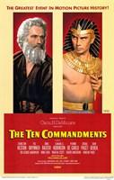 "The Ten Commandments Pharoah - 11"" x 17"""