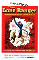 The Lone Ranger - Hi-Yo Silver Framed Print