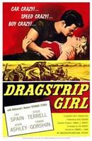 "Dragstrip Girl - 11"" x 17"""