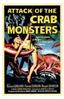 Attack of the Crab Monsters Framed Print