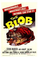 The Blob - vintage Framed Print