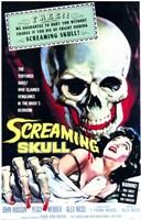 "Screaming Skull - 11"" x 17"""