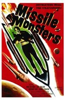"""Missile Monsters - 11"""" x 17"""""""