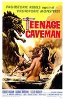 "Teenage Caveman - 11"" x 17"""