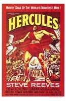 """Hercules Steve Reeves - 11"""" x 17"""""""