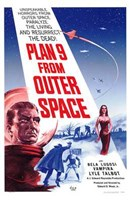 """Plan 9 from Outer Space - 11"""" x 17"""""""