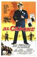 "Al Capone With Rod Steiger - 11"" x 17"" - $15.49"