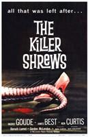 The Killer Shrews Framed Print