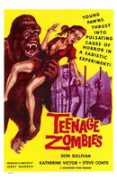 "Teenage Zombies - 11"" x 17"" - $15.49"