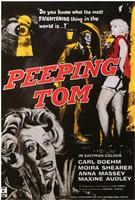 "Peeping Tom Carl Boehm Moira Shearer - 11"" x 17"""