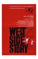 West Side Story Natalie Wood Framed Print
