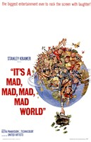 It's a Mad Mad Mad Mad World Stanley Kramer Wall Poster