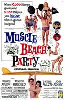 """Muscle Beach Party - 11"""" x 17"""""""