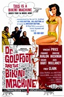 "Doctor Goldfoot and the Bikini Machine - 11"" x 17"""