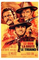 The Good  the Bad and the Ugly French Wall Poster