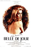 Belle De Jour - circle Wall Poster