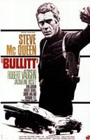 Bullitt Steve McQueen Fine Art Print