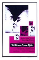 The Thomas Crown Affair - kissing Wall Poster