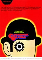 "Clockwork Orange Stanley Kubrick - 11"" x 17"""